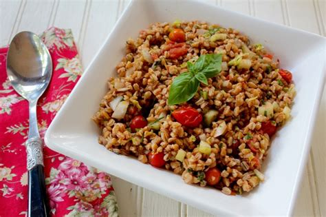 Detox Farro Salad Home Chef by Lake Lure Cottage Kitchen Cooking With Pennylake Lure