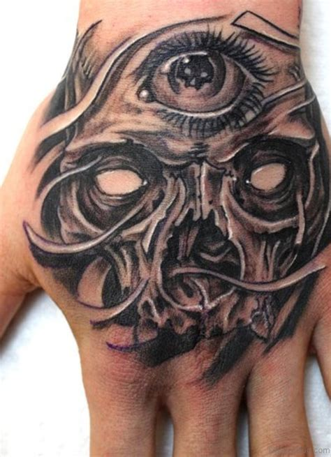 eye for an eye tattoo design 80 classic skull tattoos on