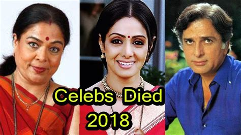 famous female actresses that died bollywood famous celebrity who died in 2018 you don t