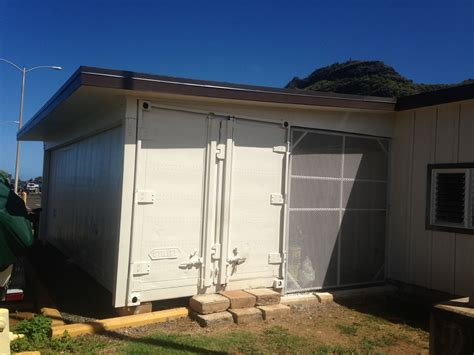 Maintenance Shed by Kauai Small Boat Harbor Maintenance Shed Sikellc