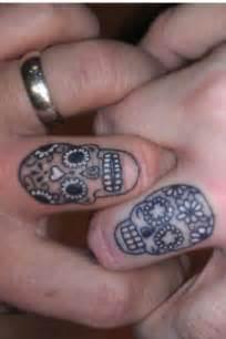 wedding ring tattoo skulls ring tattoo wedding skulls