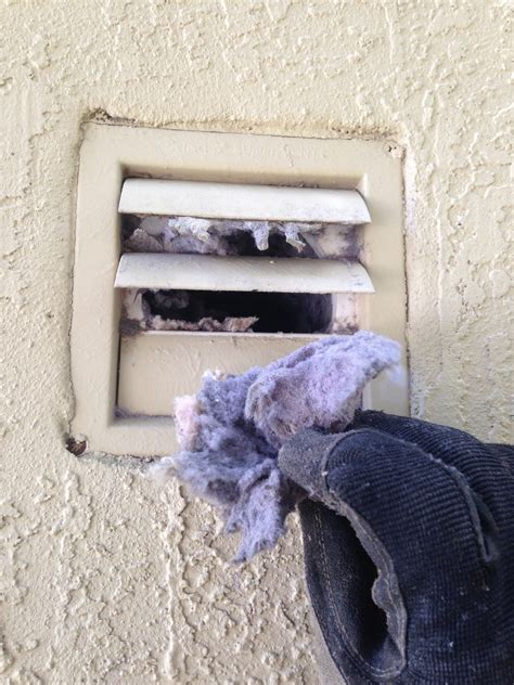 how to clean lint from inside dryer cabinet what why when clean the dryer vent dryer vent cleaning