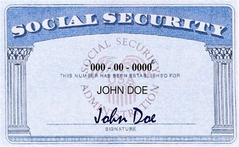 ssn card template social security card mu international center
