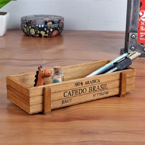 Woody Box Box Kayu Multi Function square wood planter promotion shop for promotional square