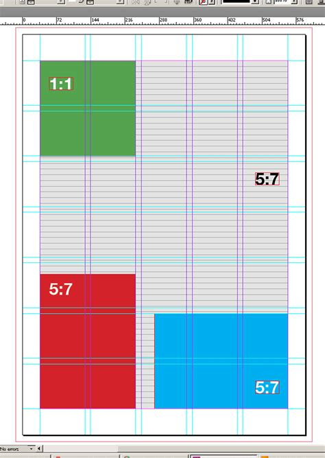 pattern grid indesign how to match my layout grid with my margins columns and