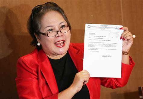 Philippine Charity Sweepstake - 48 house members want sandra cam to resign from pcso interaksyon
