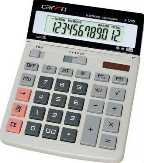 Desk Top Calculator by China Desktop Calculator D 1200 China Desktop