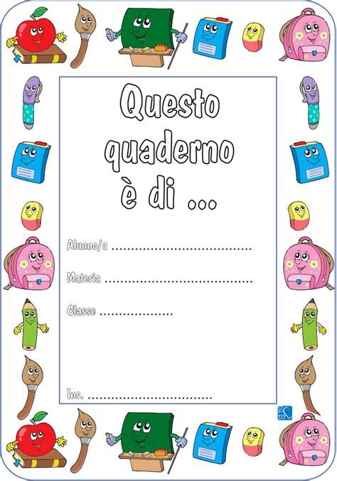 cornici da disegnare sul quaderno copertine per quaderni di scuola maestra
