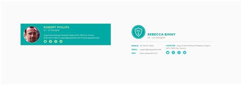 design free email signature 10 free email signature templates with elegant designs on