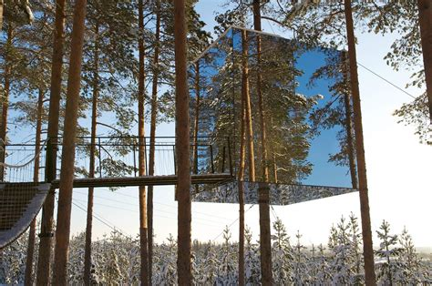 tree hotel sweden 40 eco hotels to visit before you die matador network