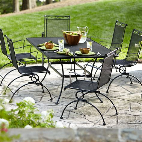 Sears Patio Dining Set Garden Oasis Rxss 09 Auburndale 7 Motion Dining Set Limited Availability