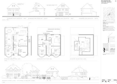 Master Bedroom Extension Plans Side And Loft Extension To 1930 S Home Quinton