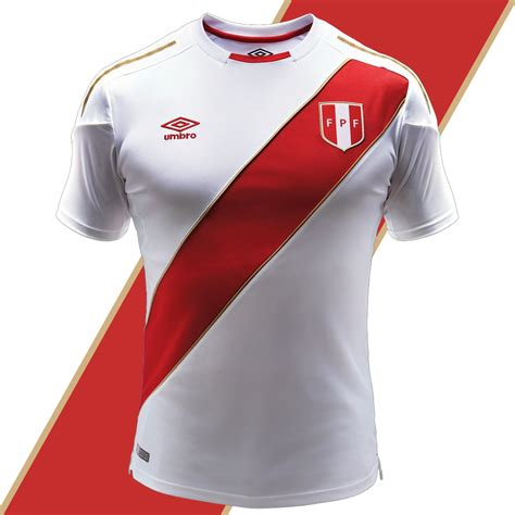 Jersey Rusia Away Official peru 2018 world cup home jersey unveiled soccer365