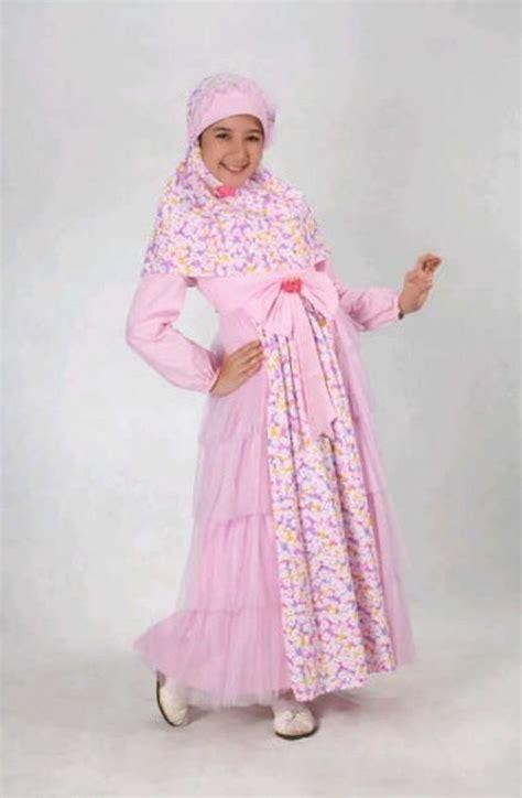 Busana Muslim Anak Perempuan Ethica Model Baju Anak Model Baju Muslim Anak Perempuan 0877