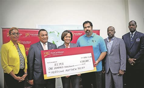 cibc s 100 000 gift to hurricane relief the tribune