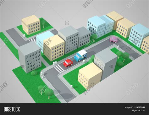 best view maps city top view traffic image photo bigstock