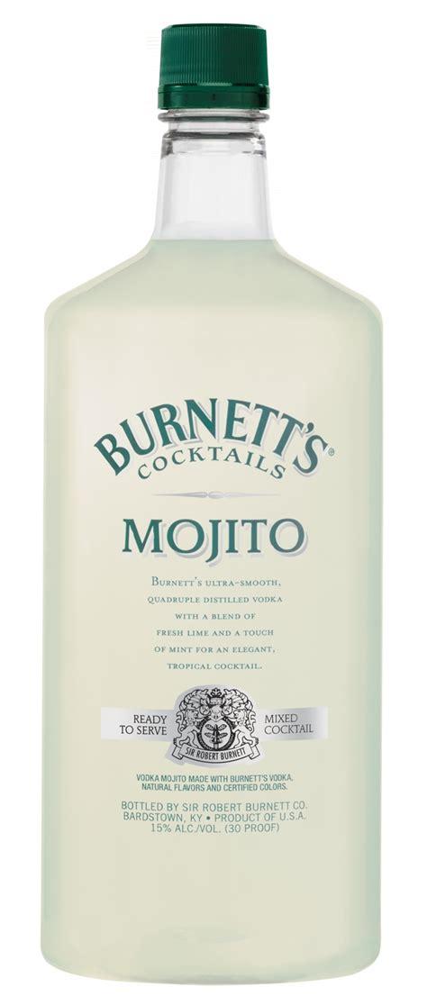 mojito cocktail bottle review burnett s cocktails drinkhacker