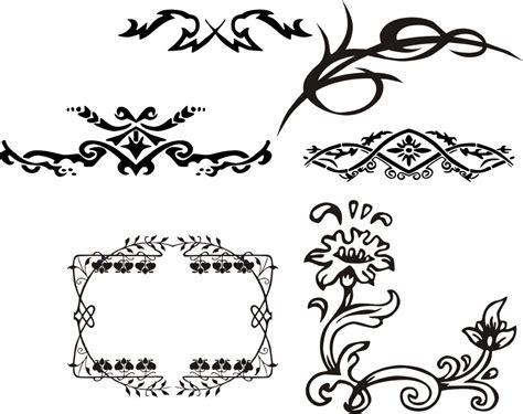 filigree clip art continue reading set of floral vector filigree clip art continue reading set of floral