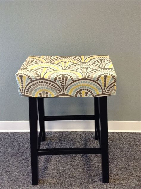 fitted saddle stool seat cushion rectangular cover kitchen counterstool seat cover washable