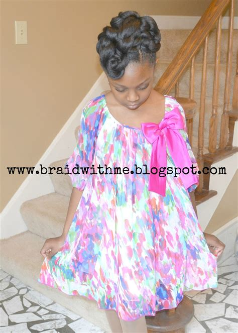 little black girl easter hairstyles beads braids and beyond easter updo for little girls