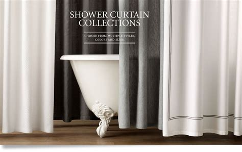 restoration hardware shower curtain shower curtains restoration hardware