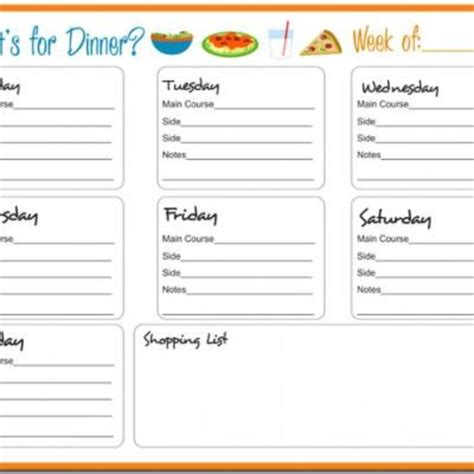 Weekly Meal Planner Free Printable Paleo Pinterest Posts Weekly Meal Planner And Planners Paleo Meal Planning Template