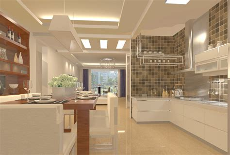 Open Kitchen Design With Living Room Open Plan Kitchen Living Room Small Space Modern House