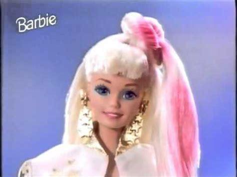 film barbie hollywood barbie werbung hollywood hair 1993 youtube