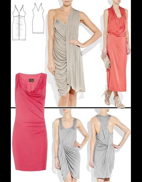 pattern for jersey dress jersey dress clothes to make pinterest