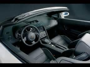 2006 lamborghini gallardo spyder white interior