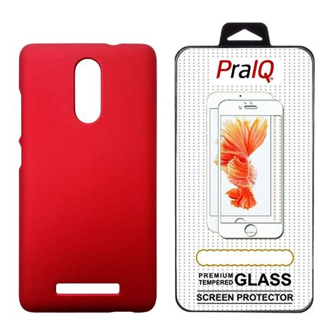 Tempered Glass Hardcase Back Cover Xiaomi Limited praiq back with tempered glass for xiaomi redmi note 3 available at snapdeal for