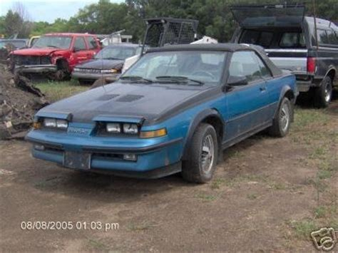 1987 Pontiac Sunbird by 2nvus4u 1987 Pontiac Sunbird Specs Photos Modification