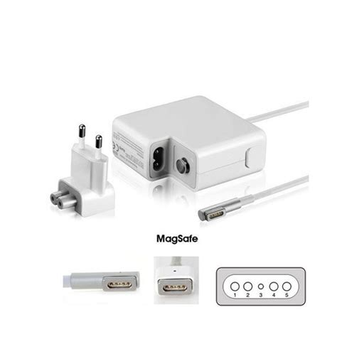 alimentatore compatibile macbook alimentatore compatibile macbook 60w 16 5v 3 65a magsafe 1