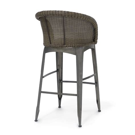 navy outdoor bar stool shop palecek bar stools dear keaton