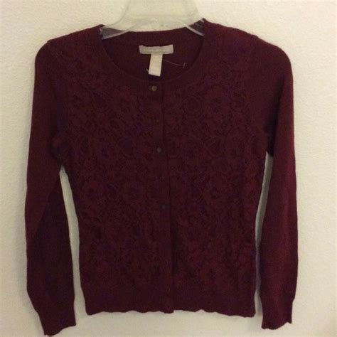 70 banana republic sweaters wine colored sweater
