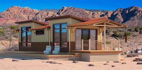 Desert Cottage by Jetson Green A Small Osprey Eco Cottage Has Landed