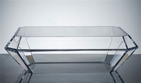 acrylic cube coffee table maximize your space with acrylic furniture