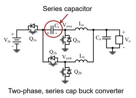 series capacitor buck new topology reduces inductor height in ultra small 12 v step converter eenews europe