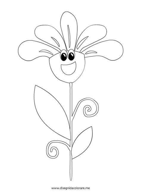 fiore disegno fiore animato da colorare disegni da colorare