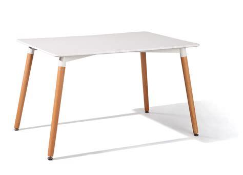 tavolo cucina moderno tavolo da pranzo moderno blanc tavolo bianco e legno per