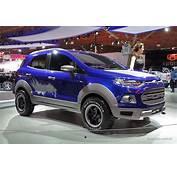 Ford EcoSport Storm  Raptor Ized Cute Ute