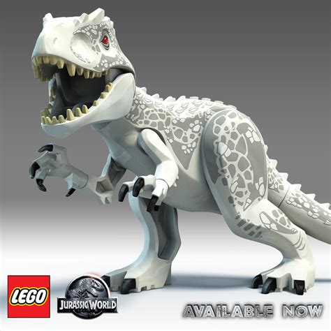 Lego Dino Indominus Rex Jurassic World Yg77005 2 lego jurassic world it s lego indominus rex how fast can you run to