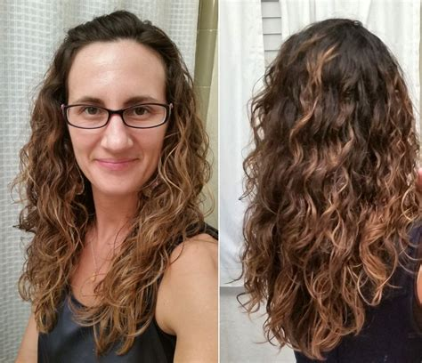 curly hairstyles using mousse curly girl method before and after a steed s life
