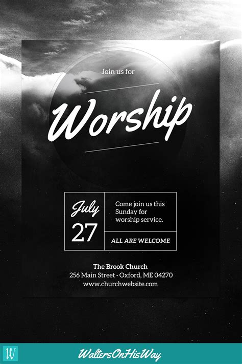 free flyer templates for church events free flyer diy church event flyer template heavenly worship for