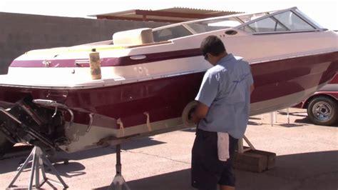 applying gelcoat to a boat boat gel coat restoration process youtube