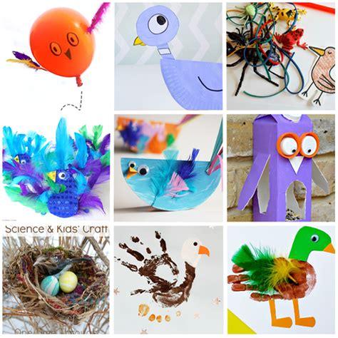 fabulous bird crafts activities for kids