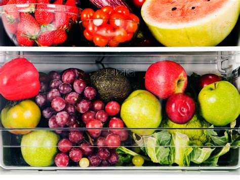 5 fruits and vegetables storing fruits and vegetables