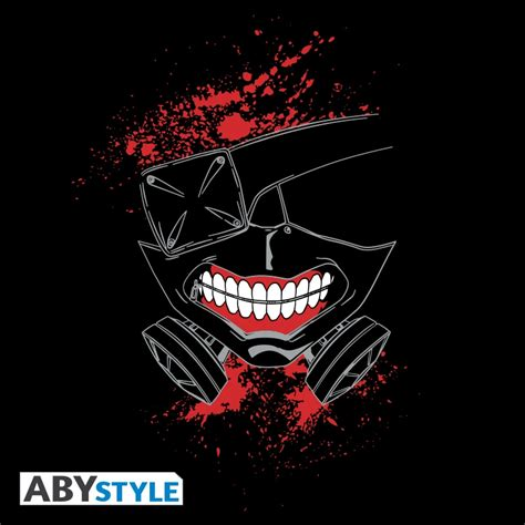 Jaket Kaneki Black Grey Jaket Tokyo Ghoul Mask Kaneki tokyo ghoul varsity jacket mask abystyle