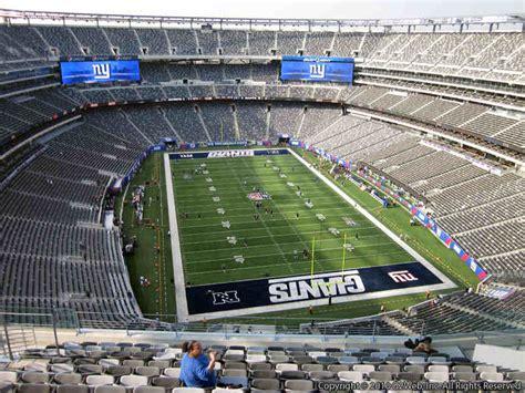section 149 metlife stadium giants jets metlife stadium section 328 rateyourseats com