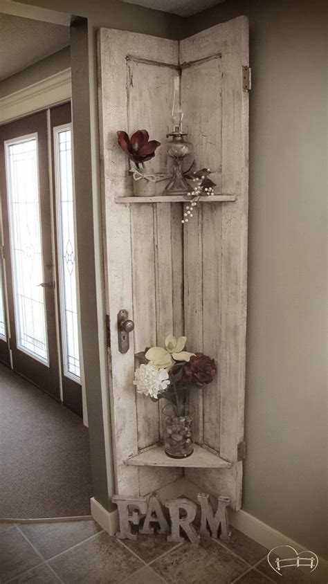 almost demolished repurposed barn door decor farm best